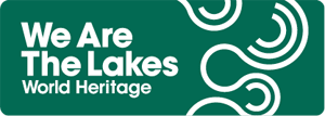 Logo: We Are The Lakes - World Heritage site.